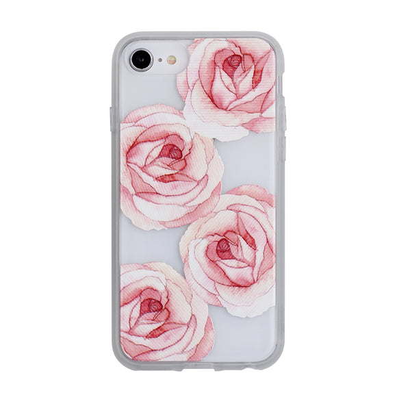Mist iPhone 8/7/6S/6 Rosie Roses Frosted - Unwired Solutions Inc