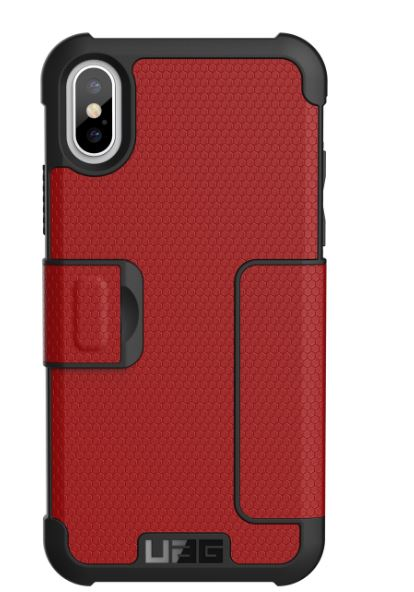 Metropolis iPhone X Red - Unwired