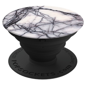 Grip Stand White Marble - Unwired Solutions Inc