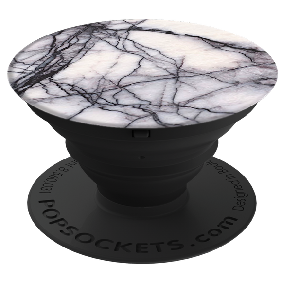 Grip Stand White Marble