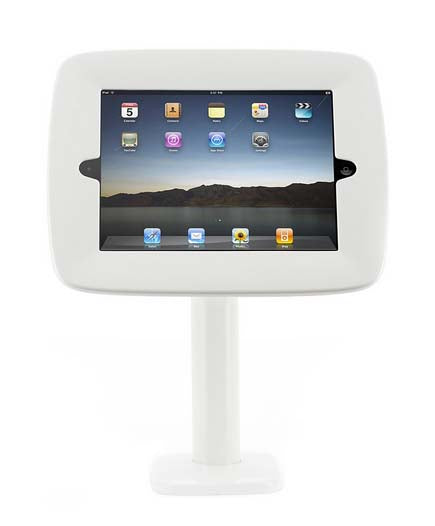 Kiosk Desktop Mount iPad 1/2/3 White - Unwired
