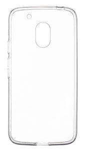 Clear Gel Skin Moto G4 Play Clear - Unwired Solutions Inc