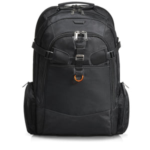 TitanCheckpoint Friendly Laptop Backpack 18.4in Black