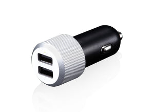 Highway Aluminum 2-Port/2.4A Chic Car Charger - Unwired