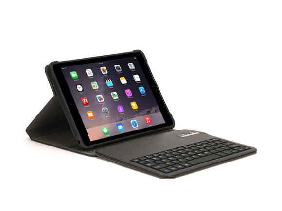 Snapbook wKeyboard iPad (2017)/Air1/2 Pro 9.7 Black - Unwired Solutions Inc