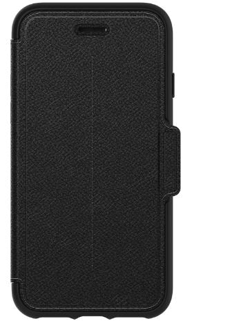 Strada Folio iPhone X Shadow (Black) - Unwired