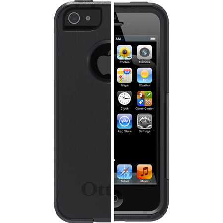 Commuter iPhone 5/5S/SE Black - Unwired