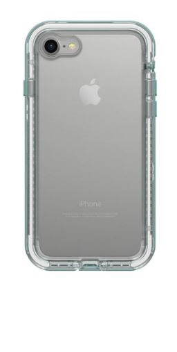 Next iPhone 8/7 Seaside (Clear/Aquafer) - Unwired Solutions Inc