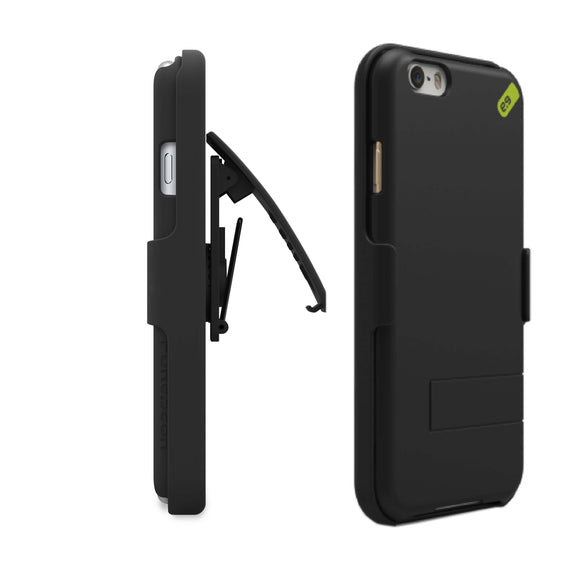 HIP Case + Clip iPhone 6/6S Black - Unwired Solutions Inc