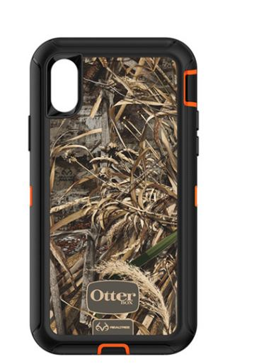 Defender iPhone X Realtree Max 5 Blaze - Unwired