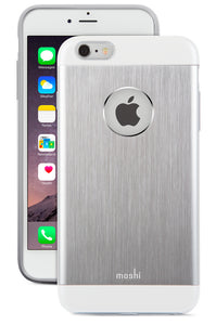 iGlaze Armour iPhone 6/6S Plus Silver - Unwired Solutions Inc