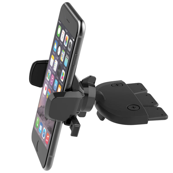 Easy One Touch Mini CD Slot Universal Car Mount