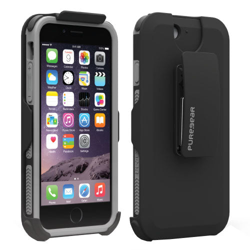 DualTek HIP Case iPhone 6/6S Black - Unwired Solutions Inc
