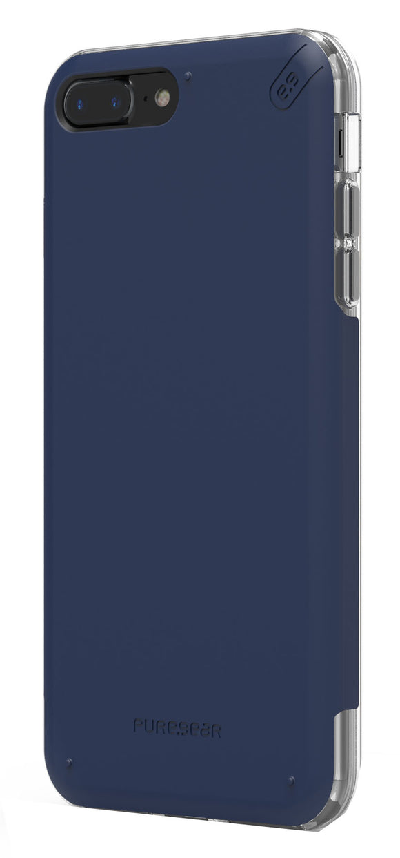 Dualtek Pro iPhone 8 Plus/7 Plus Blue/Clear - Unwired