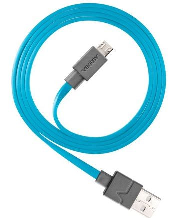 Charge/Sync Cable Micro USB 6ft Blue - Unwired