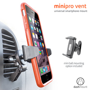 "Minipro Vent Car Mount up to 3.06"" Black"
