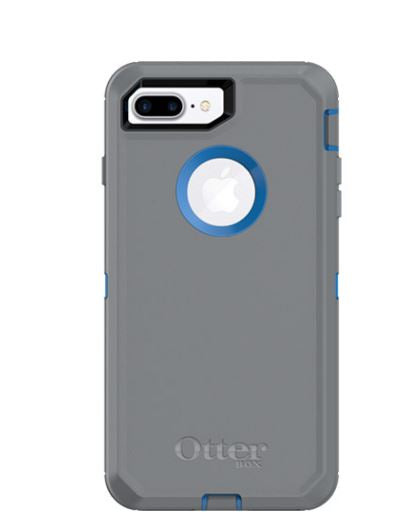 Defender iPhone 8 Plus/7 Plus Marathoner (Blue/Gray) - Unwired
