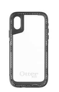 Pursuit iPhone X Black/Clear - Unwired