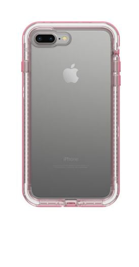 Next iPhone 8 Plus/7 Plus Cactus Rose (Clear/Pink) - Unwired
