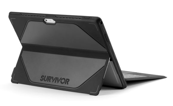 Survivor Journey for Surface Pro 3 Black/Grey - Unwired Solutions Inc