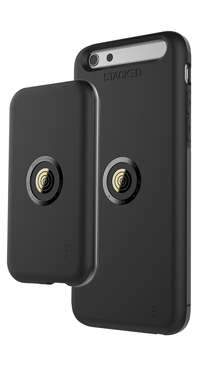 STACKED Speed Case Bundle iPhone 8 Plus/7 Plus Blk - Unwired Solutions Inc