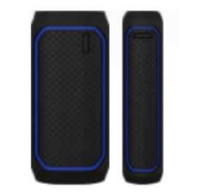 Survivor Portable powerbank 6000mAh Black/Blue