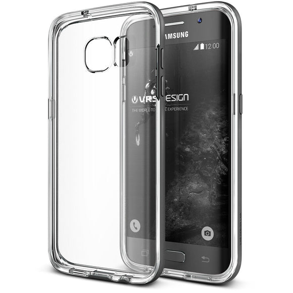 Crystal Bumper GS7 edge Clear/Gray - Unwired Solutions Inc