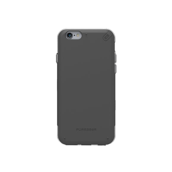 DualTek Pro iPhone 6/6S Black/Clear - Unwired