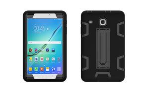 Hybrid case w/kickstand Tab E 8 Blk/Blk - Unwired Solutions Inc