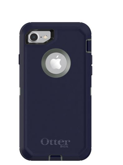 Defender iPhone 8/7 Stormy Peaks (Green/Blue) - Unwired Solutions Inc