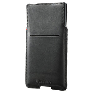 Leather Pocket Priv Black - Unwired