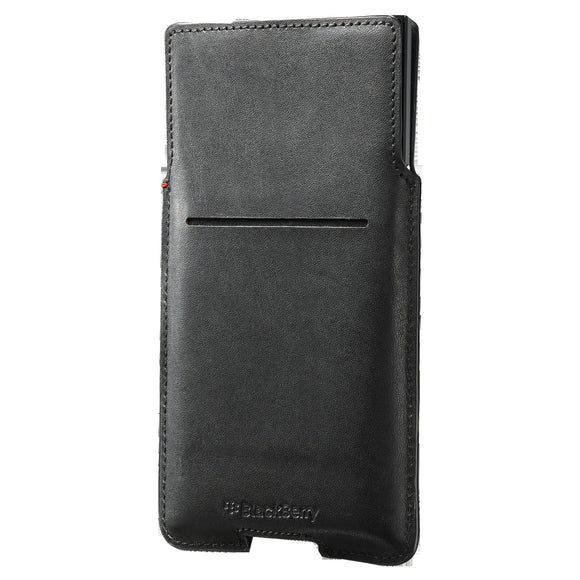 Leather Pocket Priv Black