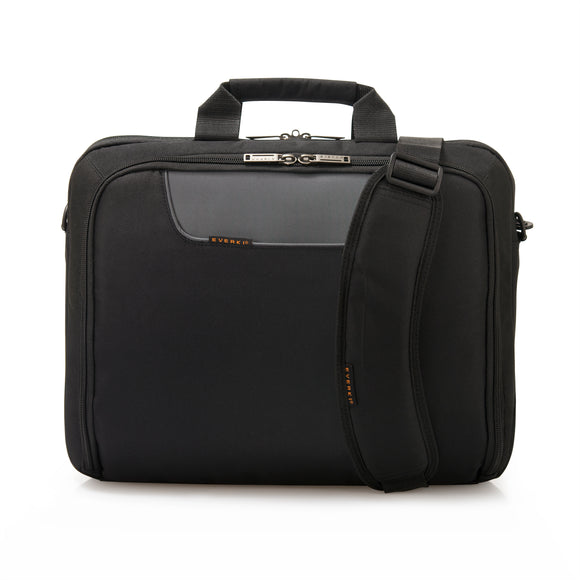 Advance Laptop Bag - Briefcase up to 16in Black