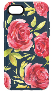 Symmetry iPhone 7 Bouquet (Navy/Pink) - Unwired Solutions Inc