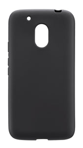 Matte Gel Skin Moto G4 Play Blue - Unwired Solutions Inc