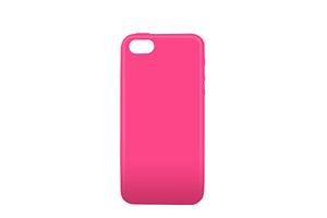 Solid Gel Skin iPhone 5/5S/SE Pink - Unwired