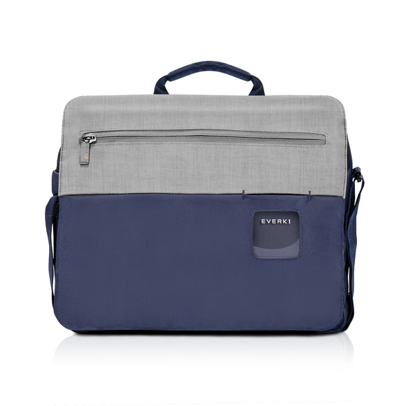 ContemPRO Laptop Shoulder Bag 14.1in/Mac 15in Navy - Unwired
