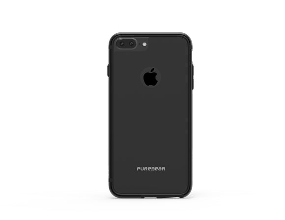 GlassBak 360 iPhone 8+/7+/6S+/6+ Black - Unwired Solutions Inc