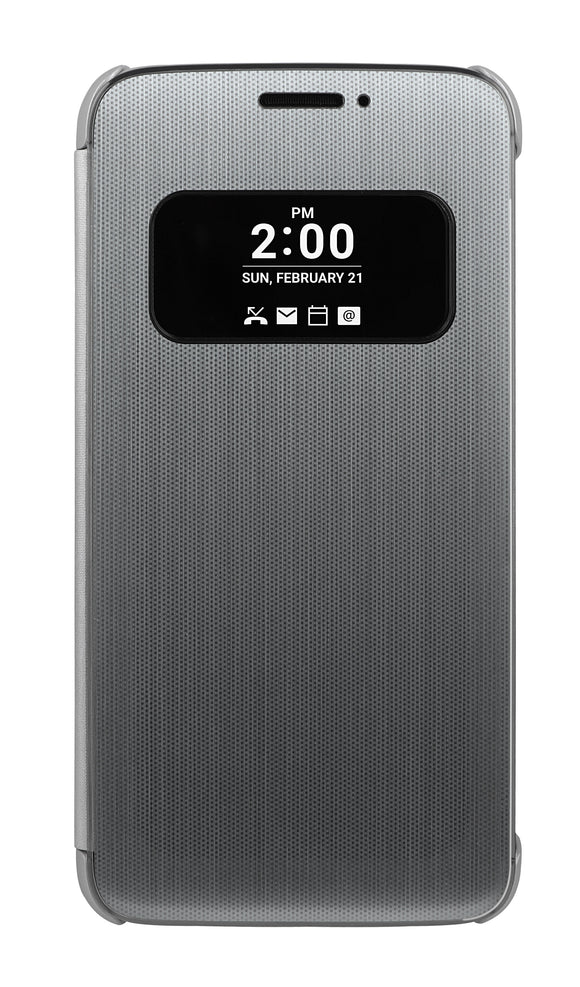 Folio Quick Cover G5 Silver - Unwired Solutions Inc