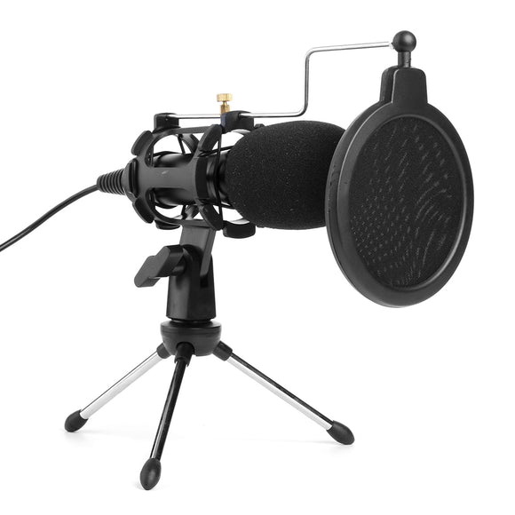 USB Plug Home Condenser MIC for PC/MAC