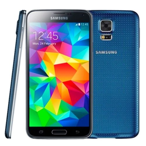 Used Samsung Galaxy S5, Blue (16GB) / Unlocked