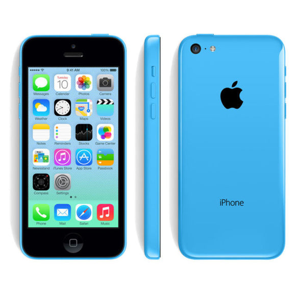 Used Apple iPhone 5C, Blue (8GB) / Unlocked