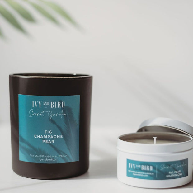 SECRET GARDEN TRAVEL CANDLE