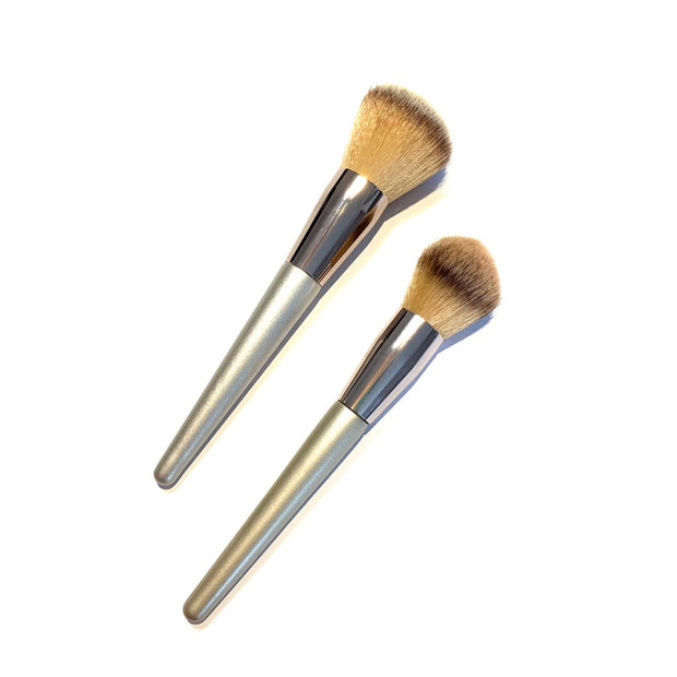 BRONZER/BLUSH BRUSH