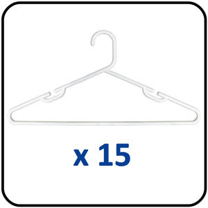 Plastic Clothes Hangers - Heavy Duty