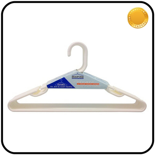 Plastic Clothes Hangers - Thin