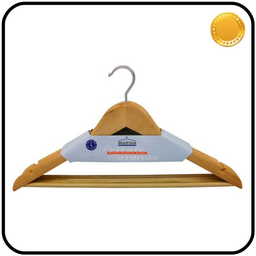 Braiform Australia Wooden Clothes Hanger Pack of 4