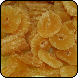 Pineapple - Dried, Diced