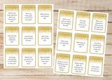 36 New Years Family Reflection Cards