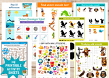 Kid's 104-Page Activity Set